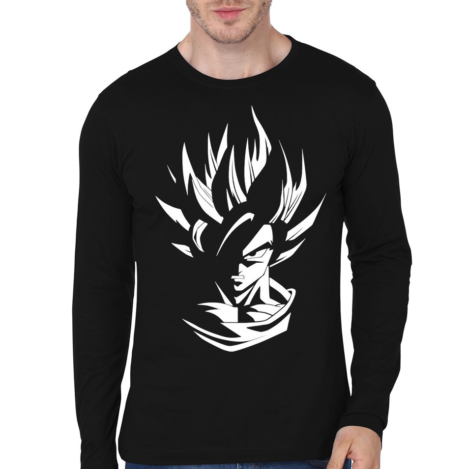 Goku Black Full Sleeve T Shirts Dark Blue Colours Available Swag