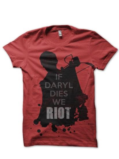 Daryl Red Tee
