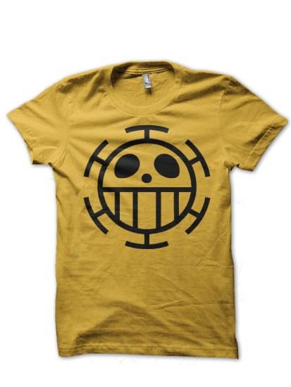 immortal pirate yellow tee