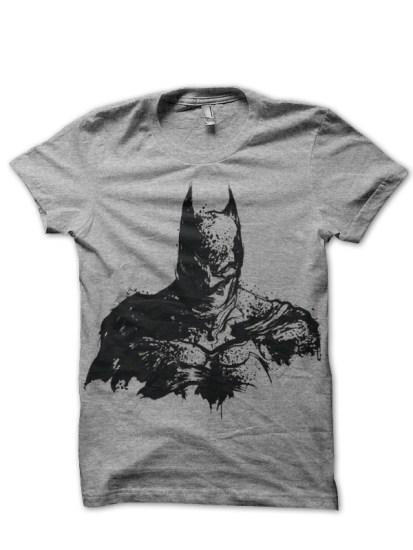 batman grey tee