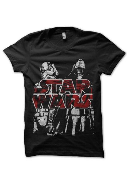 star wars black tee