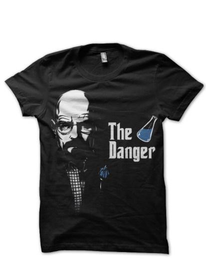 the danger black tee