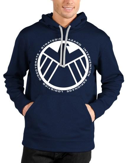 avengers navy blue hoodie
