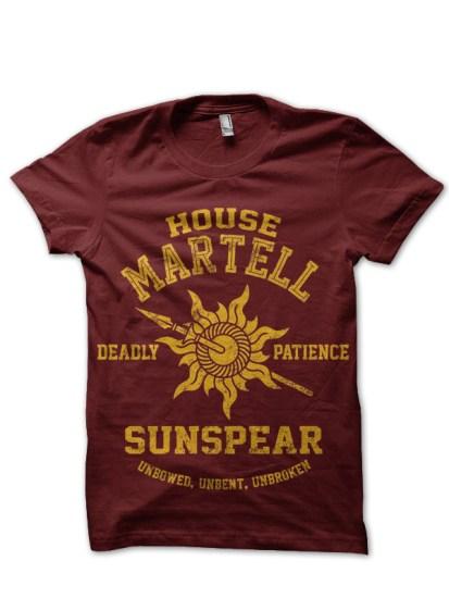 house martell maroon tee 1