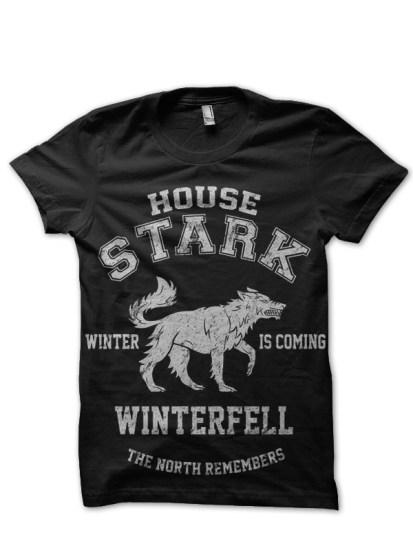 house stark black tee 1