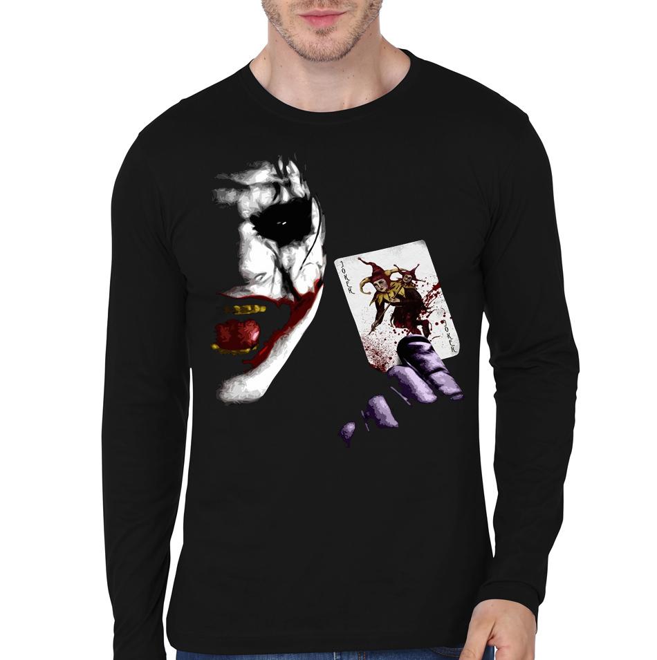 Joker full sleeve t shirt india part 1 for Jockey full sleeve t shirts india