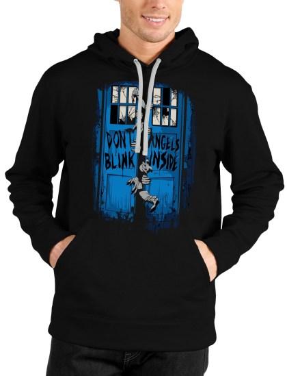 zombies black hoodie