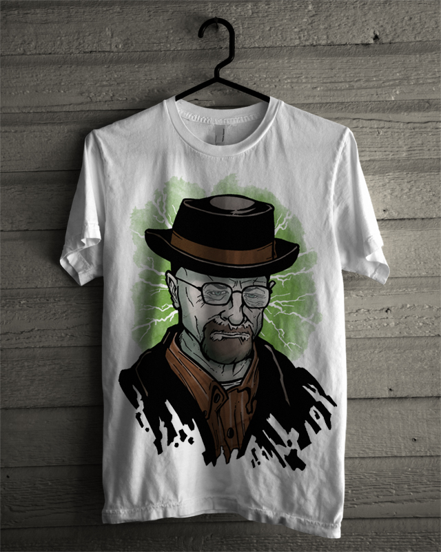 mad walt white tee