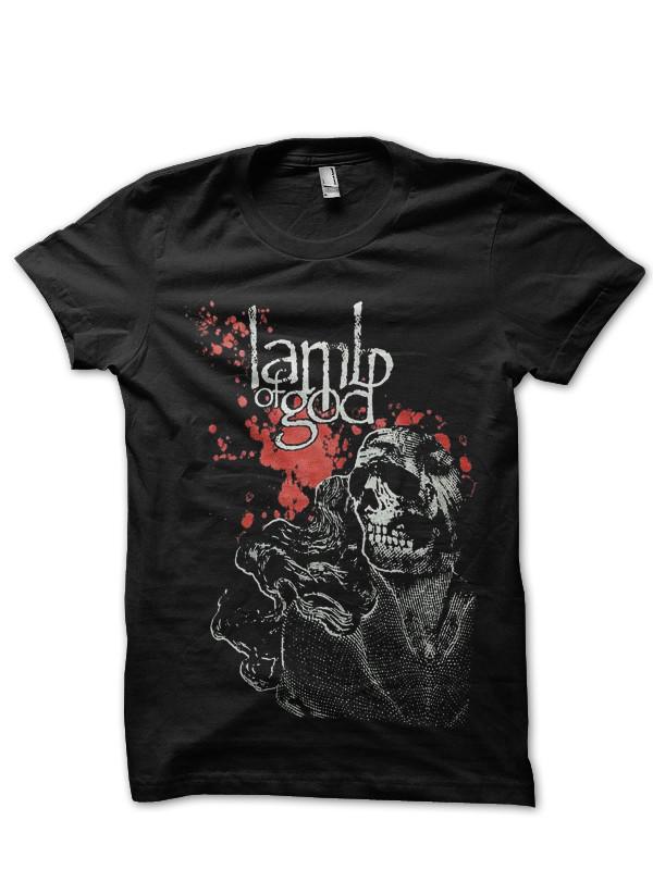 Lamb Of God Black Tee Swag Shirts