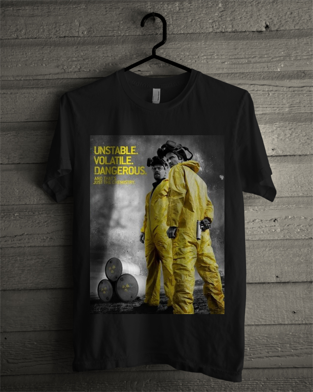 breaking bad black tee
