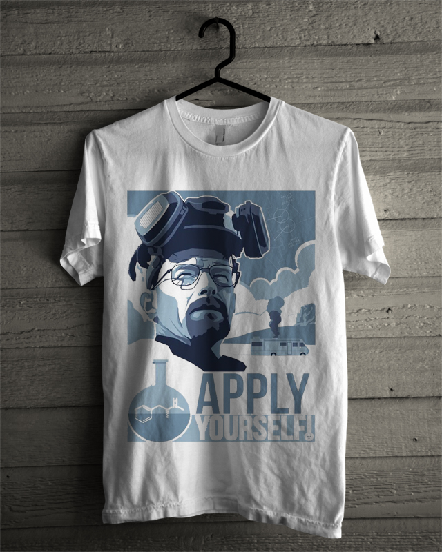 breaking bad white tee