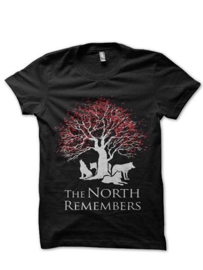 north remember black tee