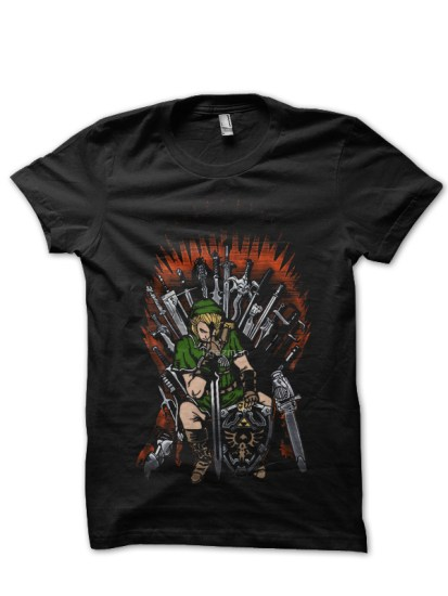 game of throne black tee