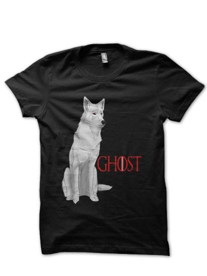 ghost black tee