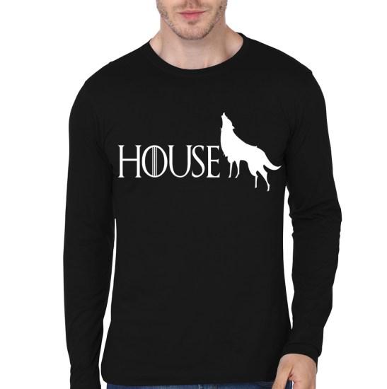house black tee