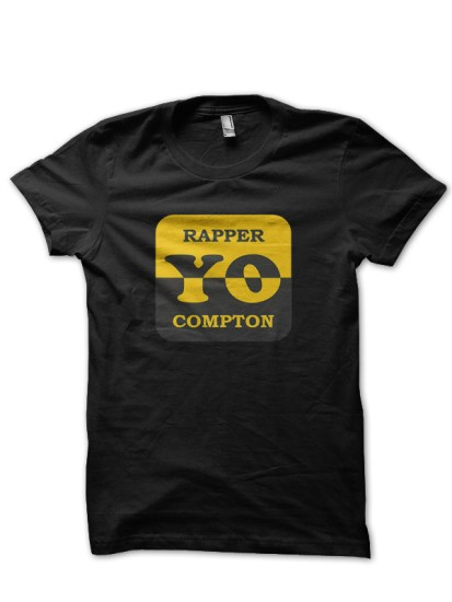 rapper black t-shirt
