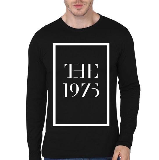 the 1975 black full sleeve t-shirt