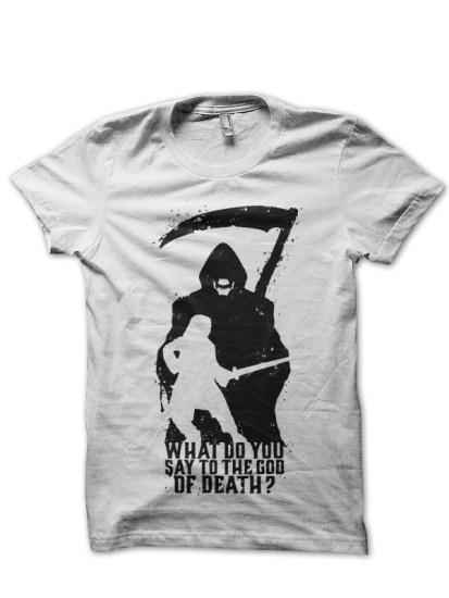 arya stark white t-shirt