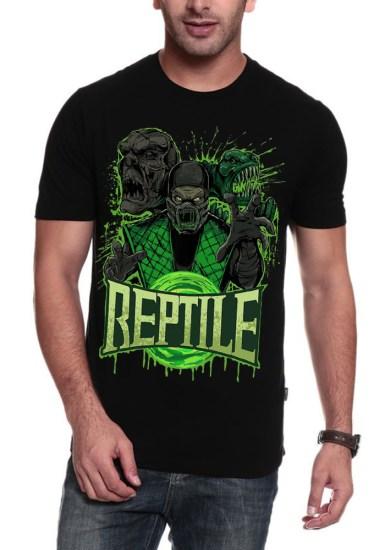 reptile black t-shirt