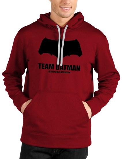 Batman Red Front hoodie