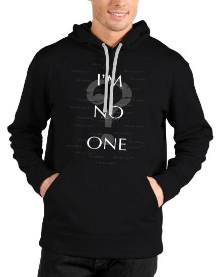 arya stark black hoodie
