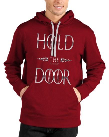 hodor red hoodie