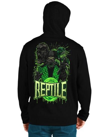 mortal komat4 back hoodie