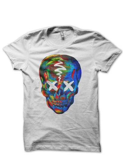 suicide squad 21 whie tee