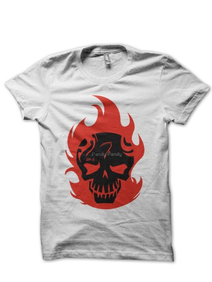 suicide squad 23 whie tee