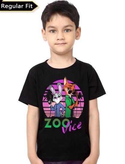 zooopia black tee