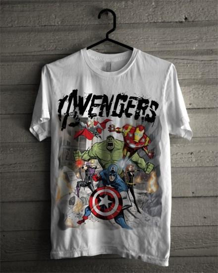 avengers-white-t-shirt