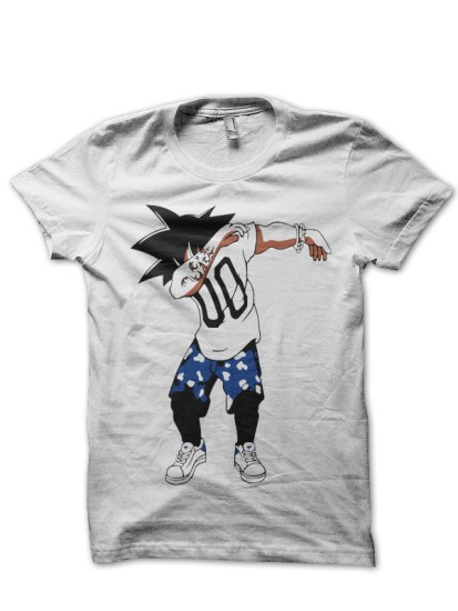 dragonball1 white tee
