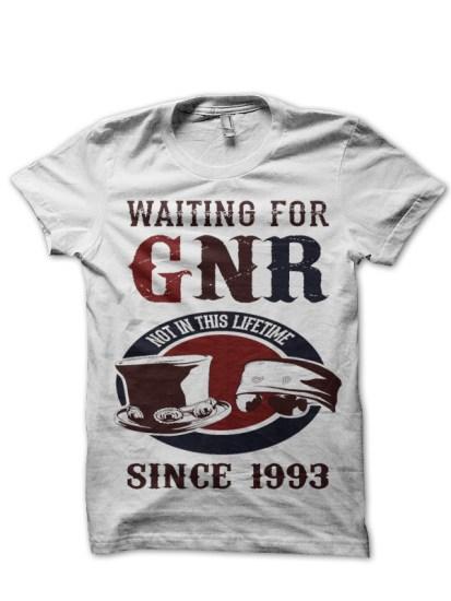 gnr-white-tee