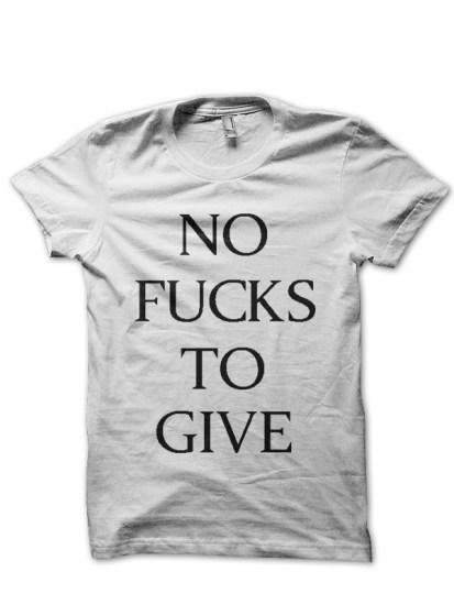 no-fucks-to-give-white-tshirt