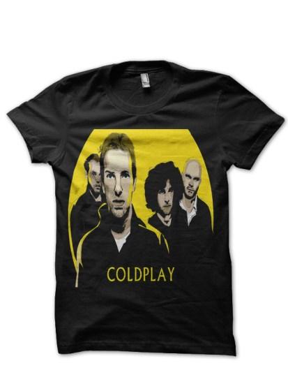 coldplayy-black-tee