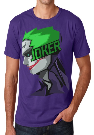 joker purple t-shirt