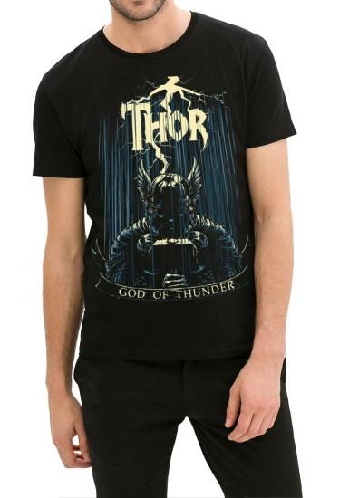thor black tee