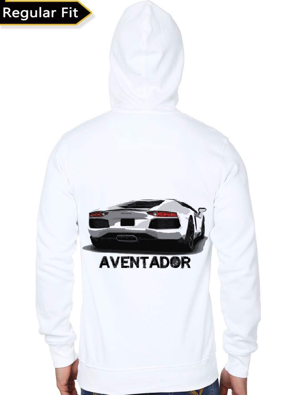 Lamborghini White Hoodie Swag Shirts Alfa Romeo Sweatshirt Home Hoodies Sweatshirts