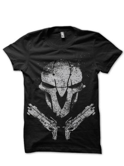 Th reaper Black tshirt