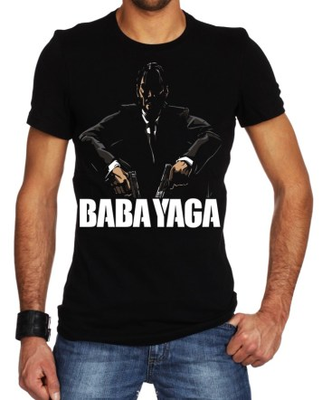 baba yaga black tshirt