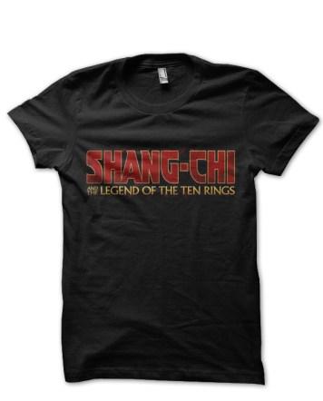 marvel shang chi tshirt