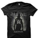 alan walker alone black tshirt
