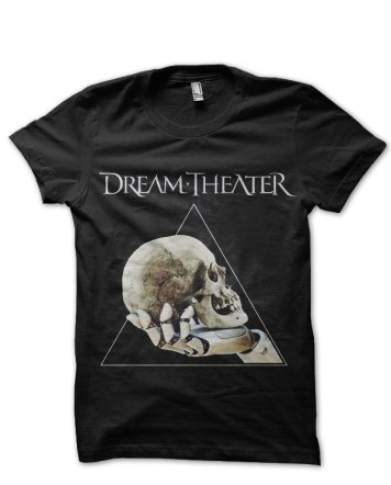 dream theater black tshirt 3