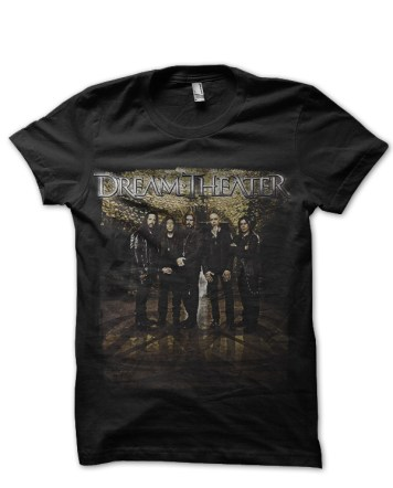 dream theater black tshirt