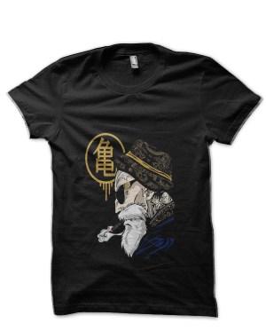 Dragon Ball Z Master Roshi Black T-Shirt