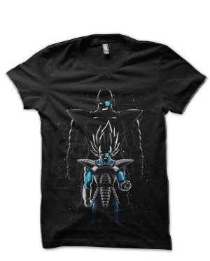 Dragon Ball Z Vegeta Black T-Shirt
