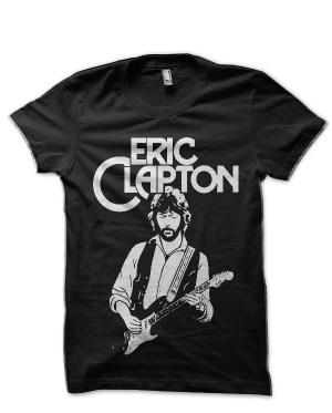 Eric Clapton Black T-Shirt