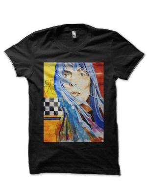 Joni Mitchell Black T-Shirt