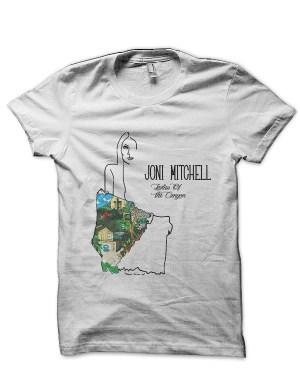 Joni Mitchell White T-Shirt5