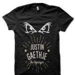 Justin Gaethje UFC Black T-Shirt
